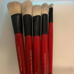 Sephora Hakuhodo brushes